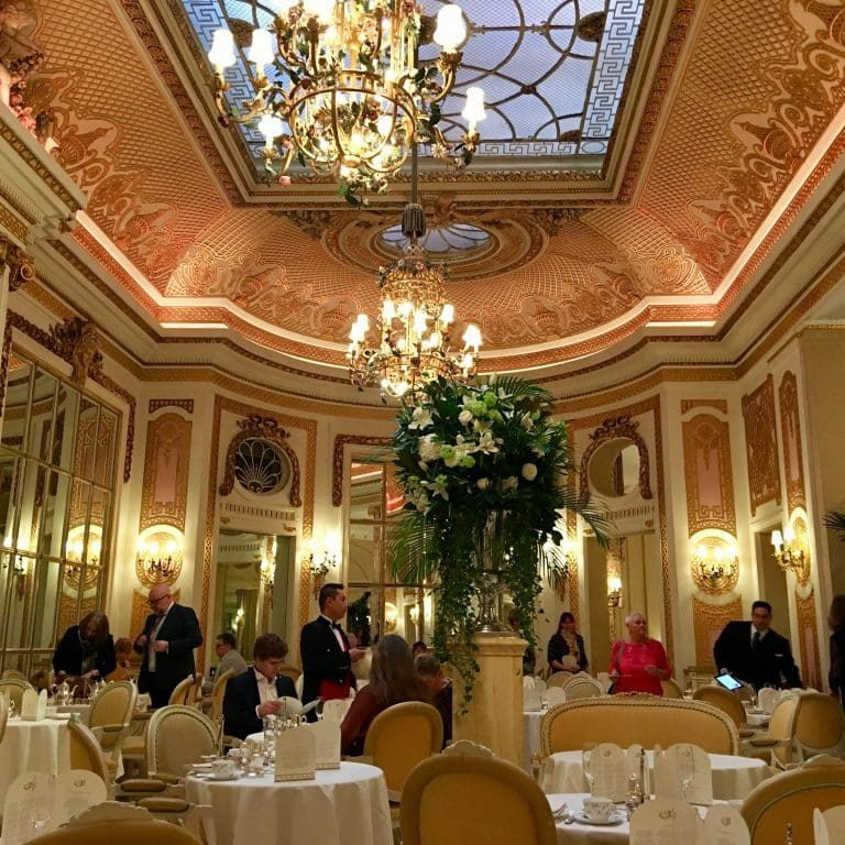 High Tea and Scones at the Ritz