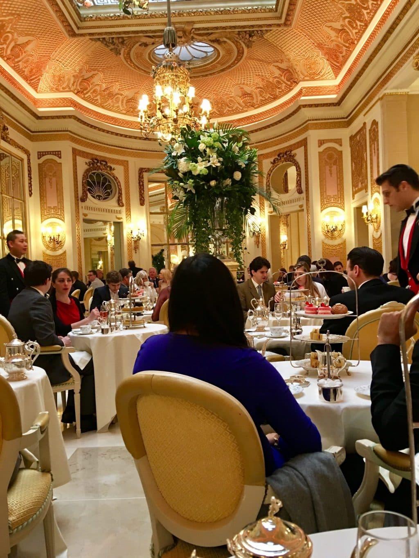 High Tea at the Ritz London
