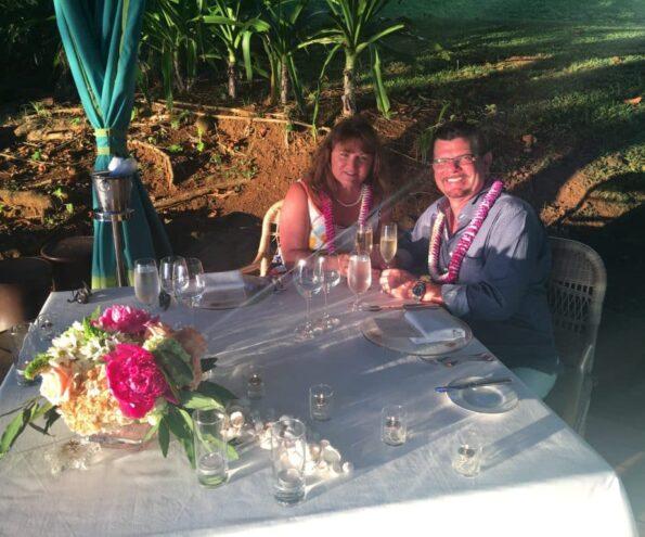 Private Beach Dinner in Kauai