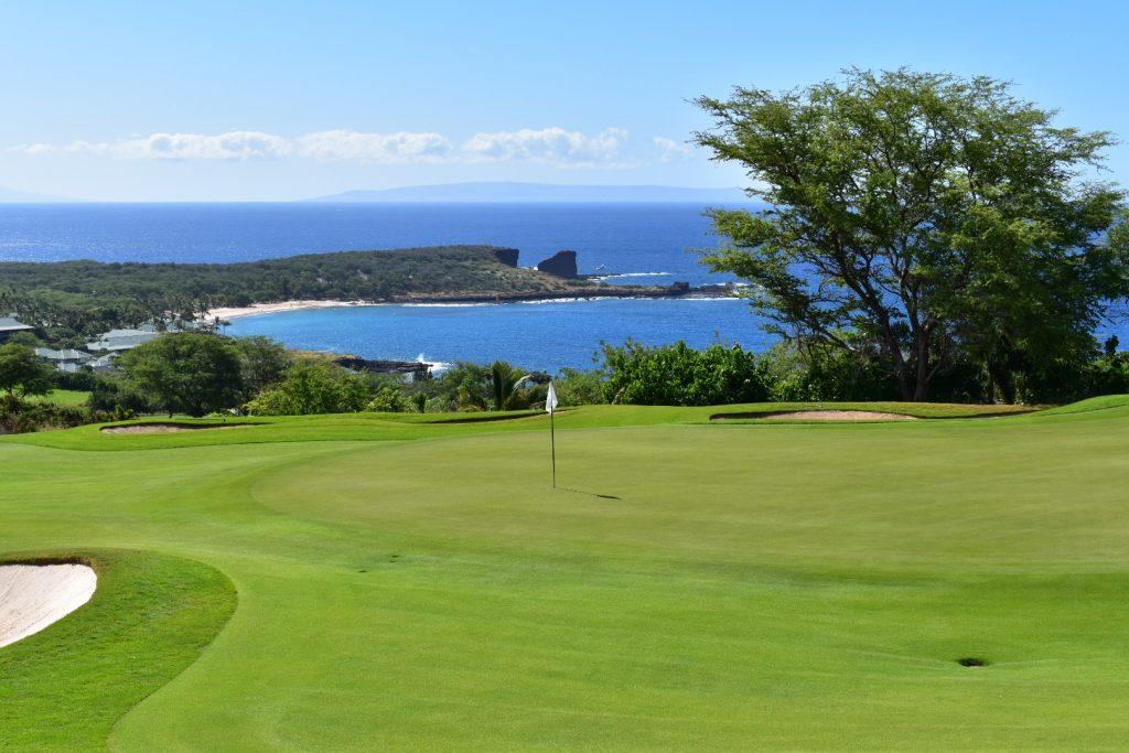 Golfing on Lanai