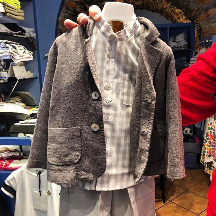 Linen Suit Bellagio