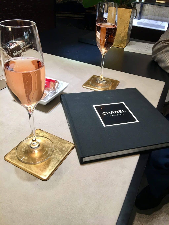 Celebration time at Chanel Paris