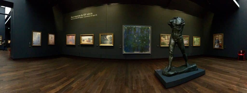 One of the galleries at Musee d'Orsay