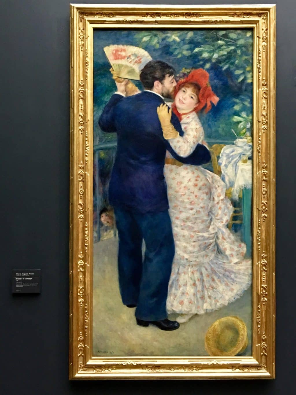 Renoir, dance in the country, 1883