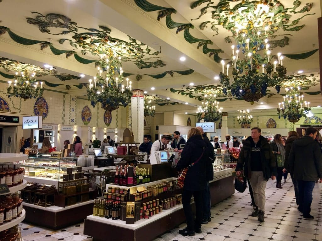 Delicious Eat at Harrods Department Store London
