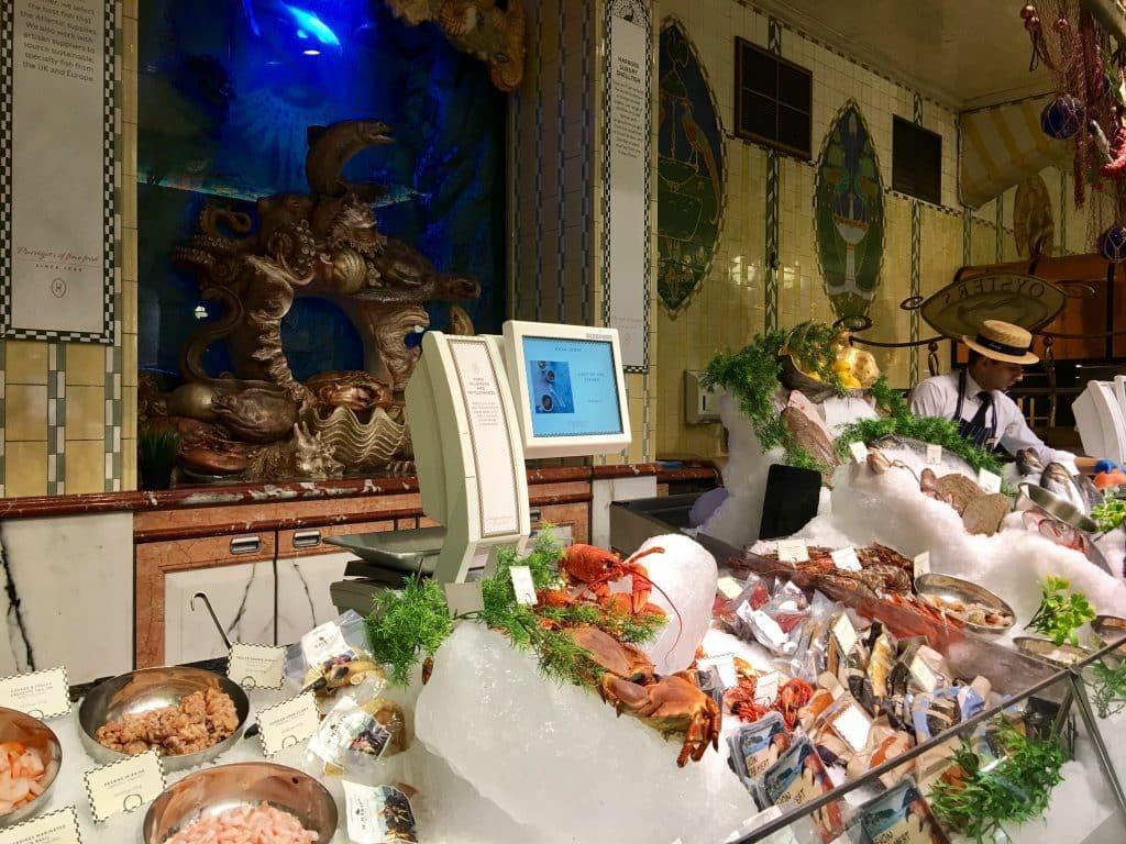 Harrods Seafood