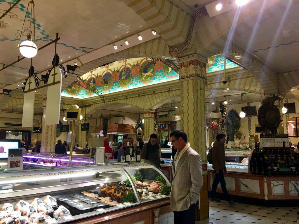 Meat at Harrods