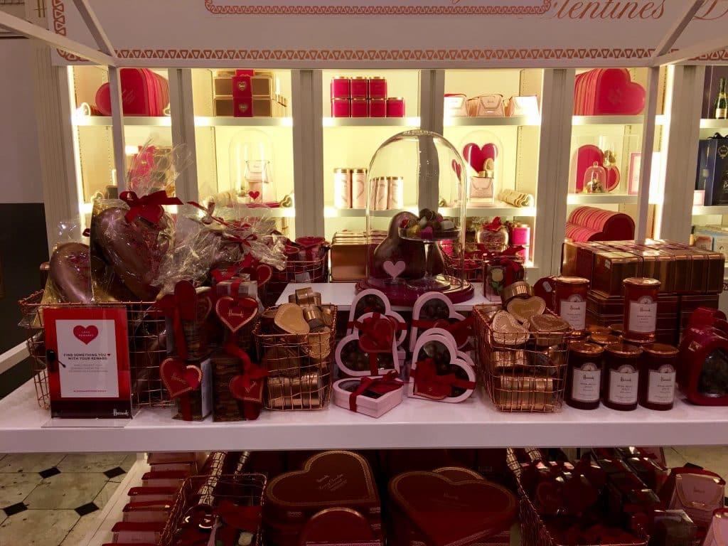 Valentine Chocolates at Harrods