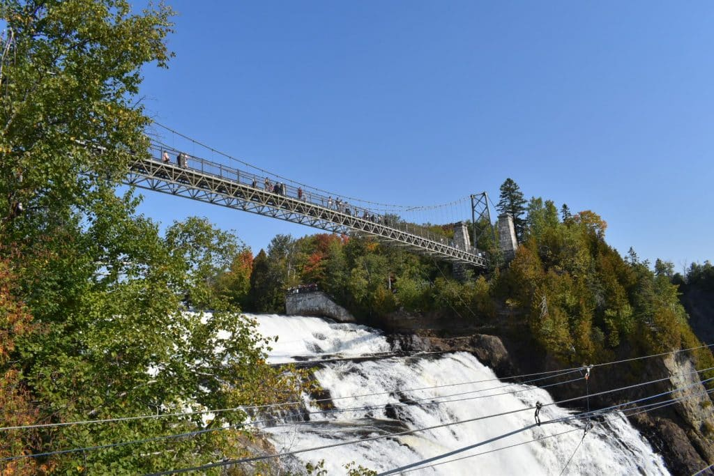 Montmorency Falls bridge