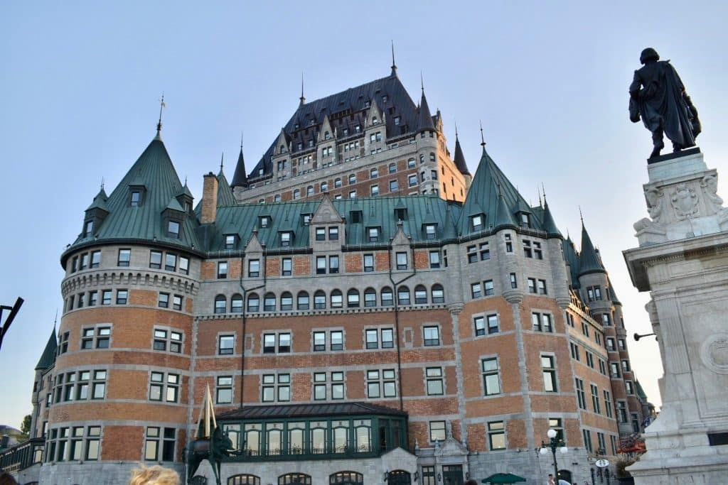 Fairmont Hotel in Quebec