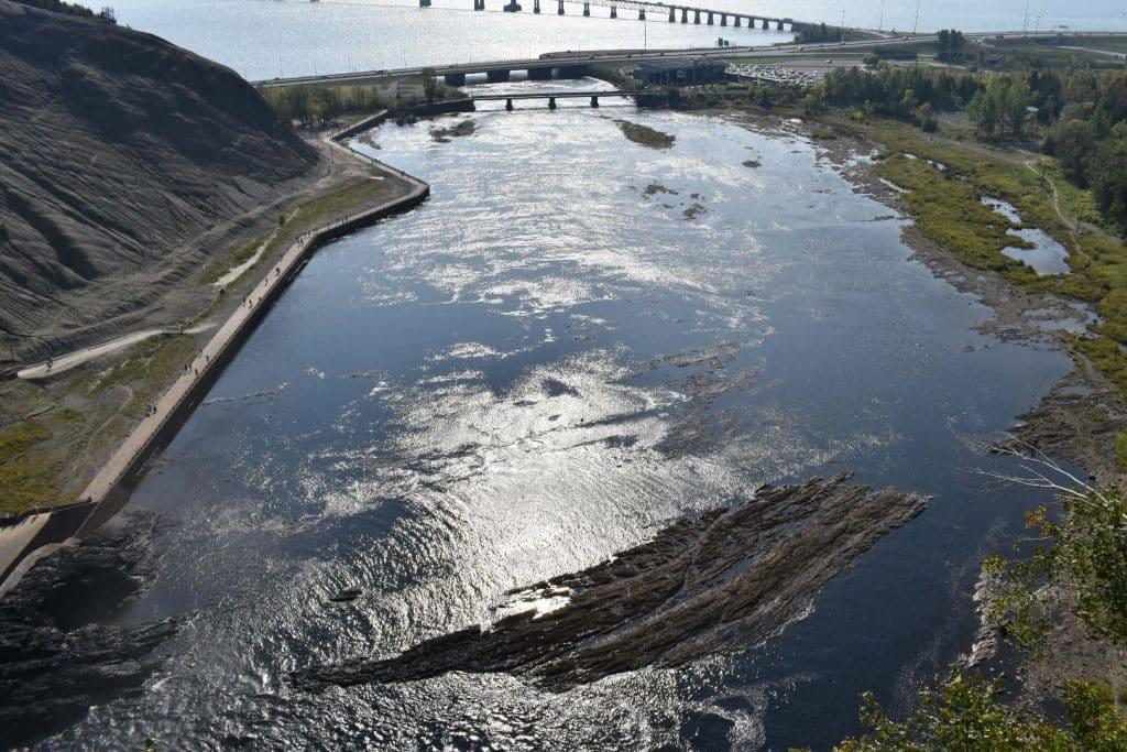 Quebec Canada Montmorency Falls