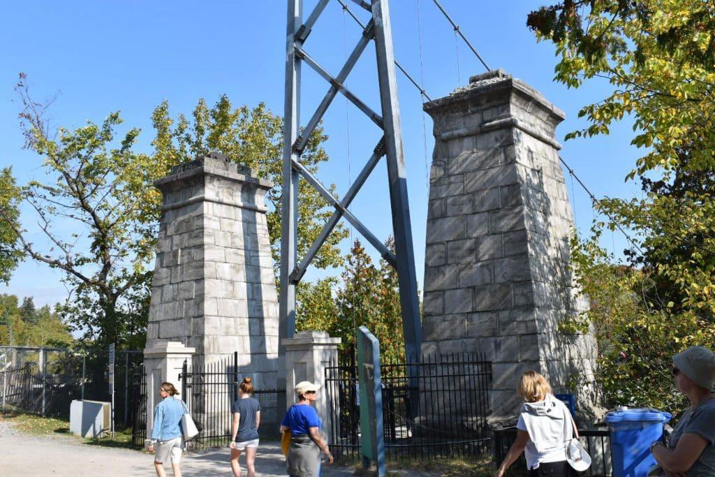 Montmorency Falls entrance