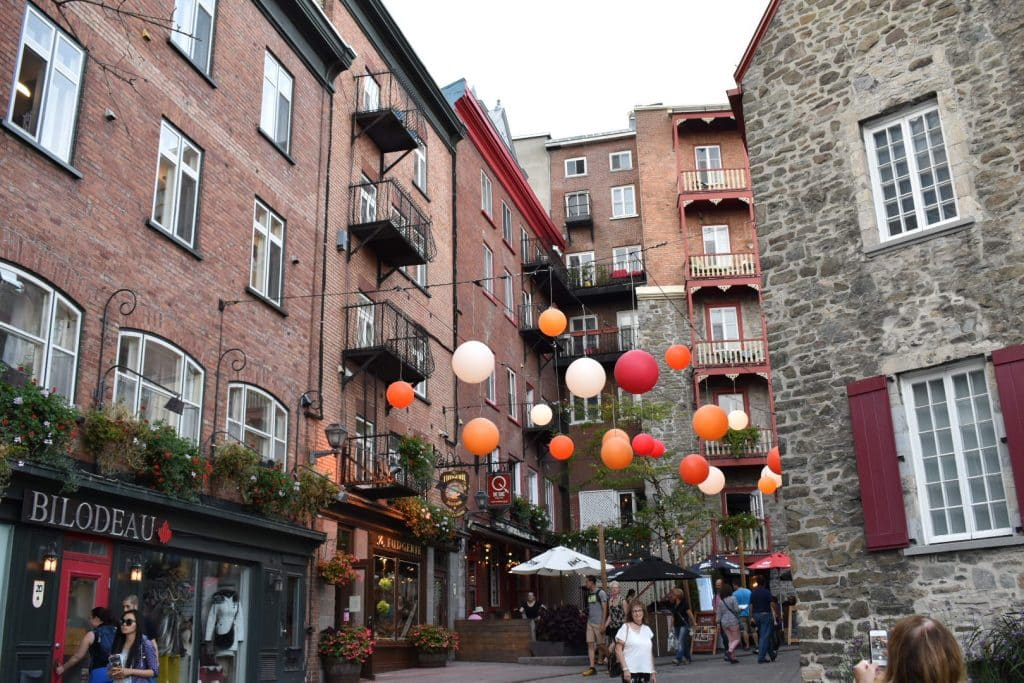 Walking Old Quebec City