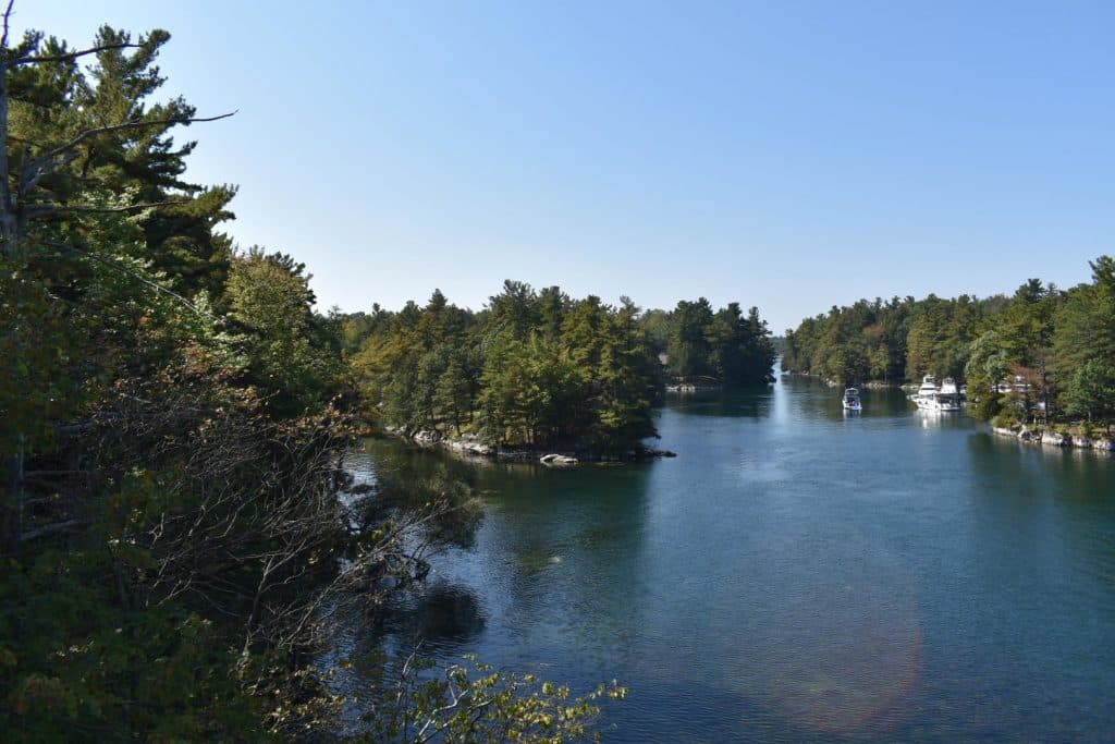 Road trip to Quebec, passing the Thousand Islands