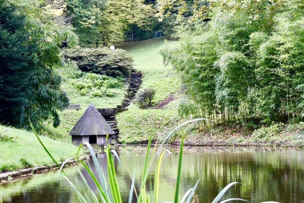 Baden Baden's Lichtenaler Allee pond