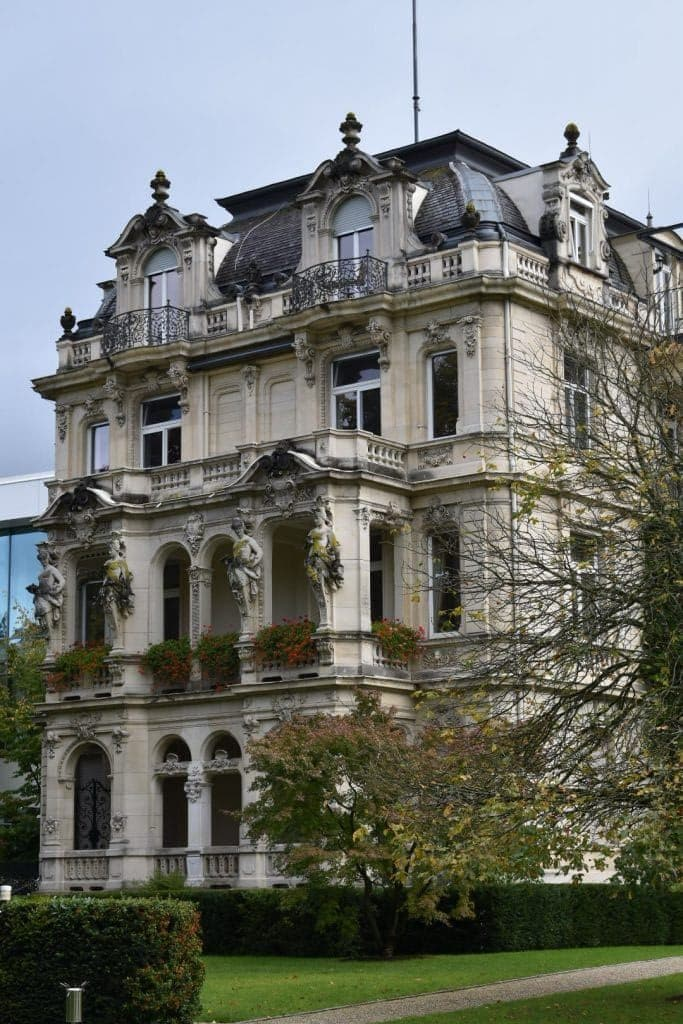 The Spa building at Brenners Park-Hotel & Spa in Baden Baden Germany