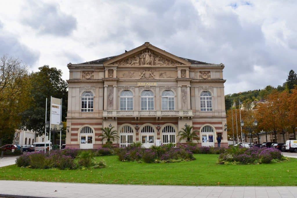 City Theatre building in Baden Baden