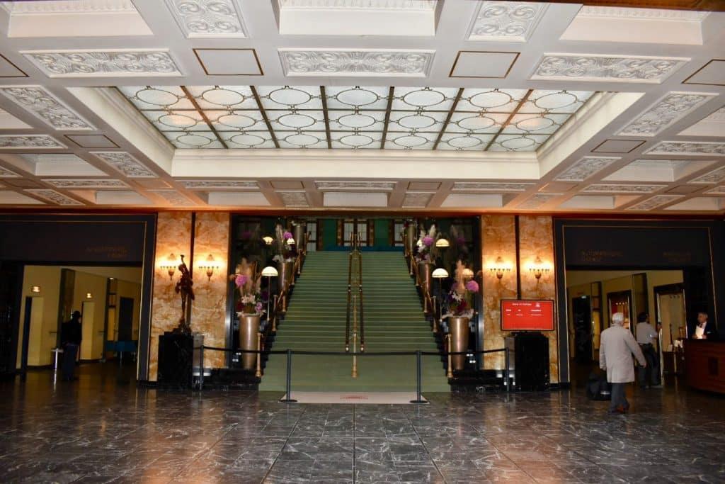 Staircase in baden baden Casino