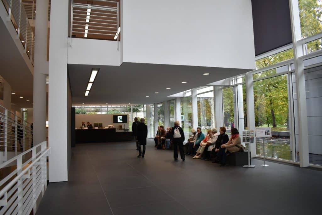 Inside Frieda Bruda Museum