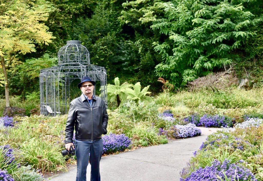 Kevin in Baden Baden's Lichtenaler Allee
