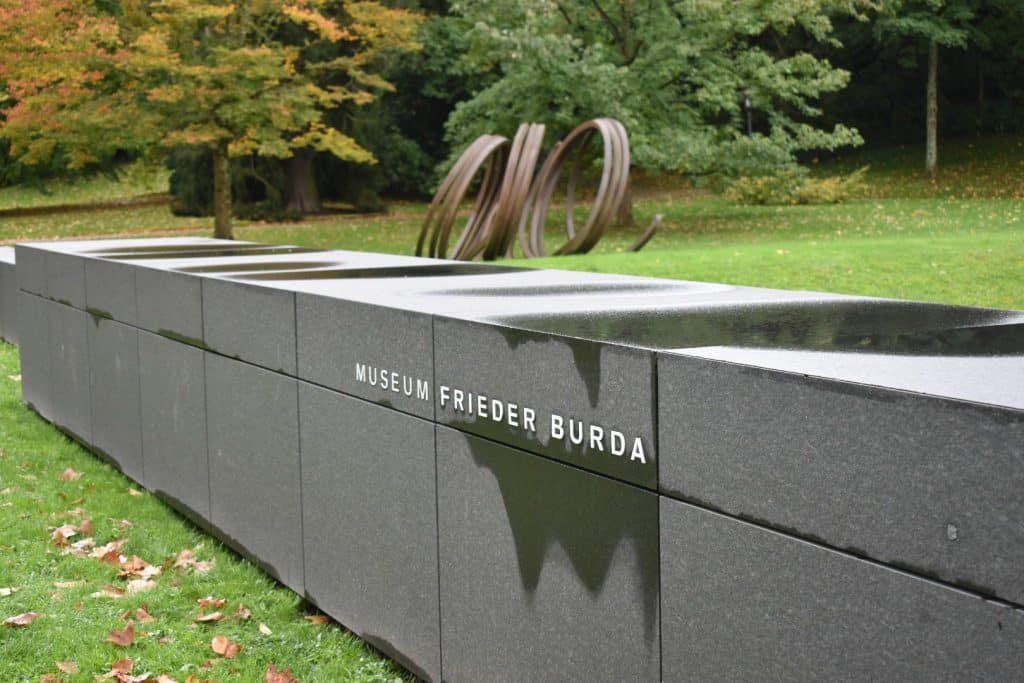 Museum Frieda Burda sign outside
