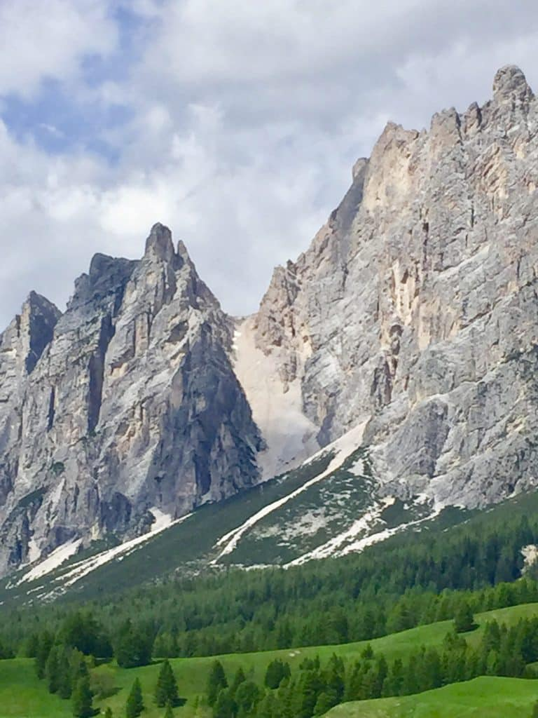Dolomite mountains in Cortina d'Ampezzo, Italy