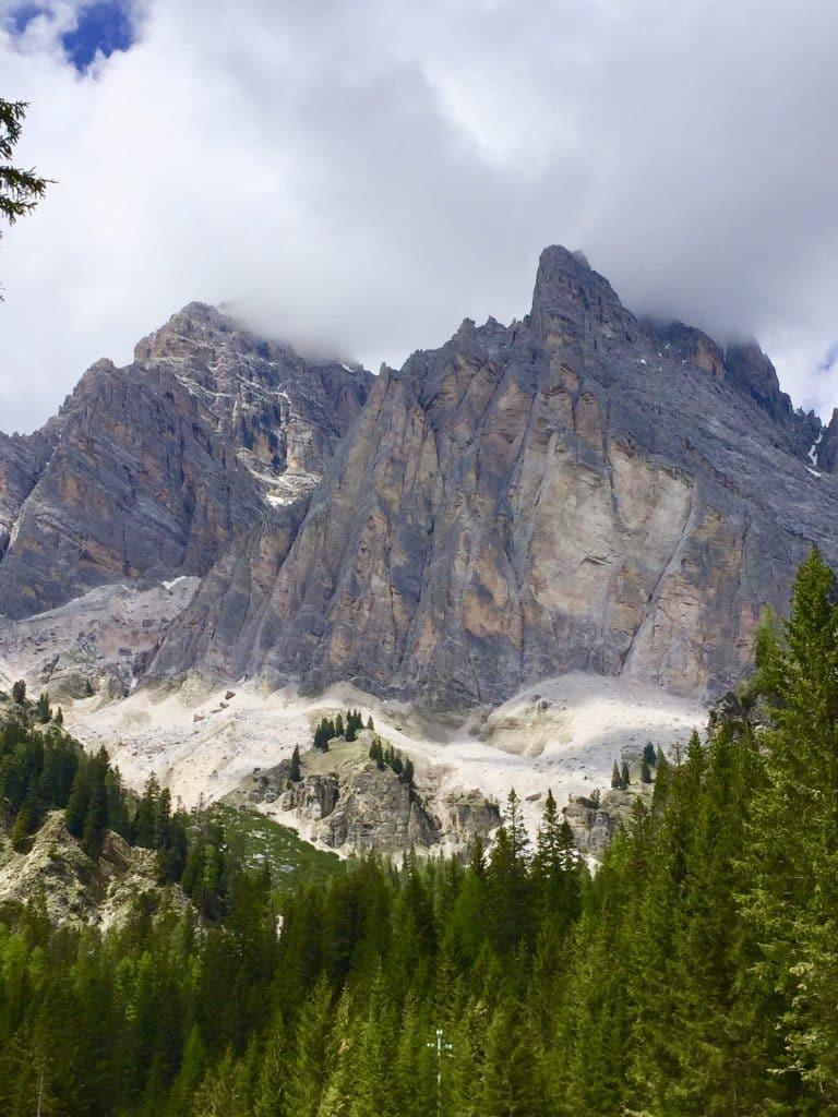 Dolomite mountains nearCortina d'Ampezzo, Veneto, Italy