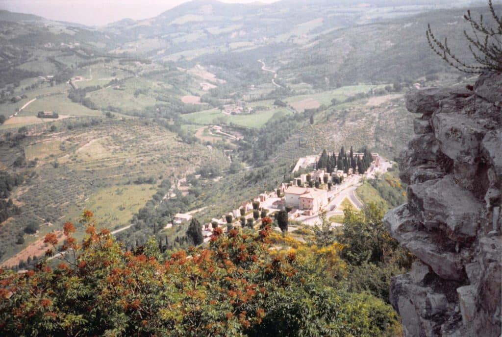 View from up high in Assisi