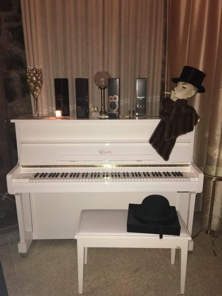 Buena Vista Winery Bubble Room piano