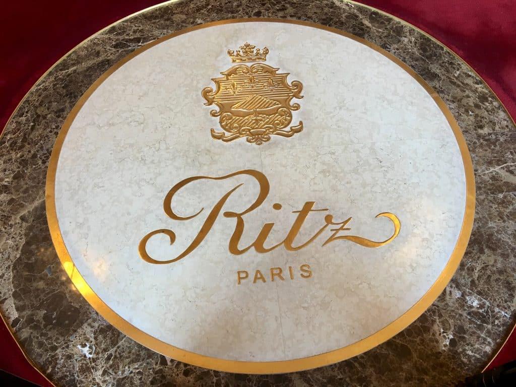Paris Ritz Hotel Emblem