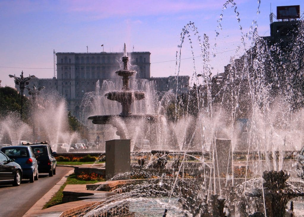 Bucharest Fountains Downtown