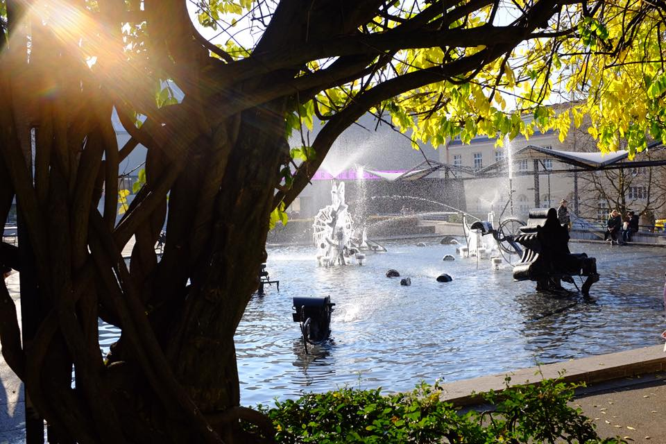 Tinguely Fountain Basel