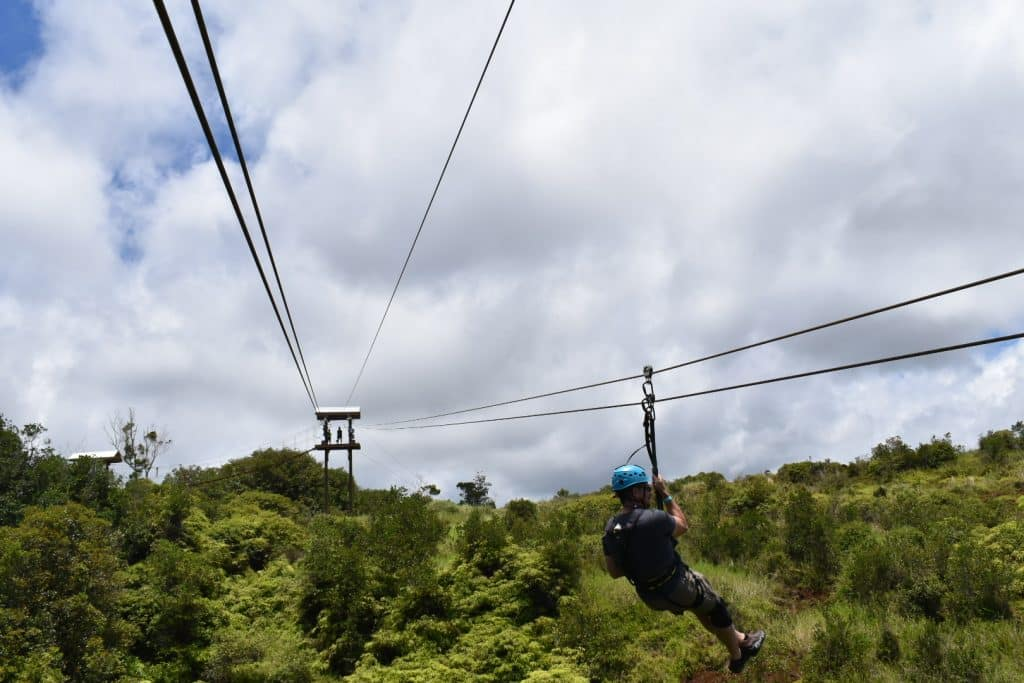 Adventure Seeker..I Dare You: Zip lining in Hawaii