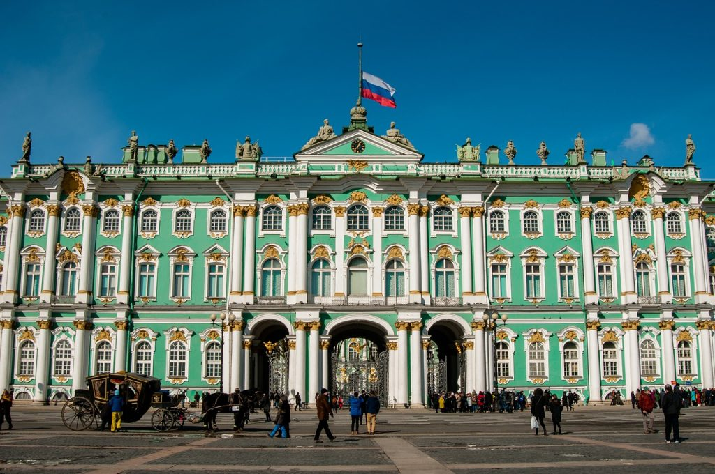 Museums Around The World: State Hermitage Museum St Petersburg Russia