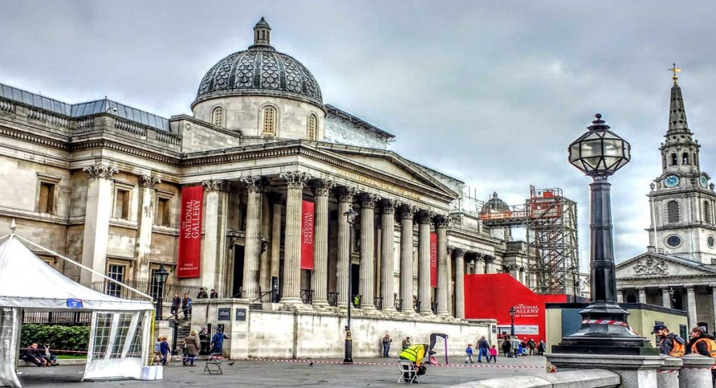 Museums Around The World: The National Gallery Trafalgar Square London England