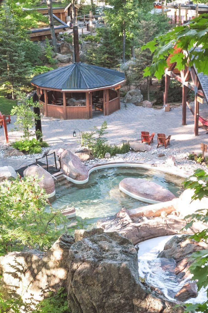 Spas around the world: The Nordik Spa: Chelsea, Canada