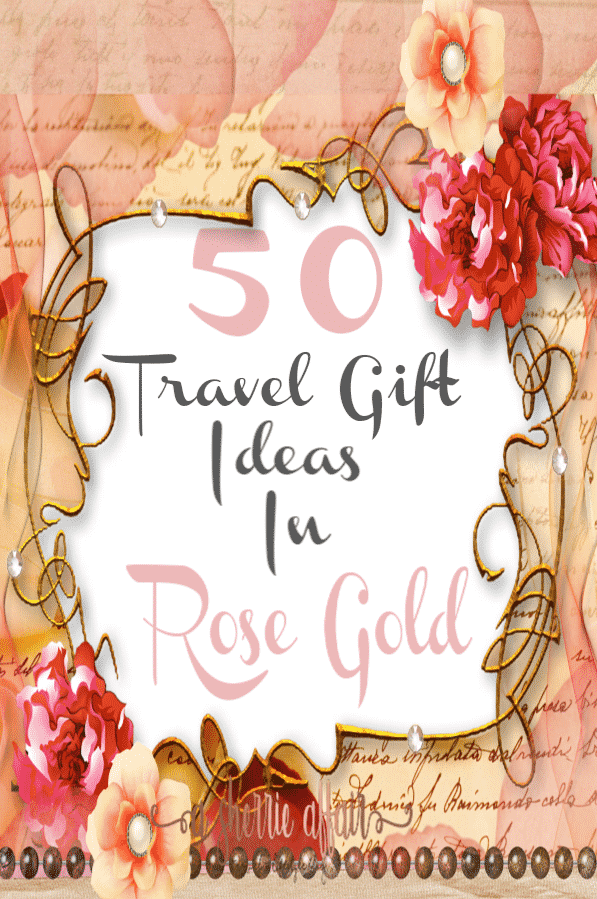 The season is here and it\'s time to find that special gift! Anything in rose gold makes a beautiful gift.  The color is warm and rich and women love it!  Check out all these perfect gift ideas for the holidays for that special women in your life.  #rosegold #giftideas