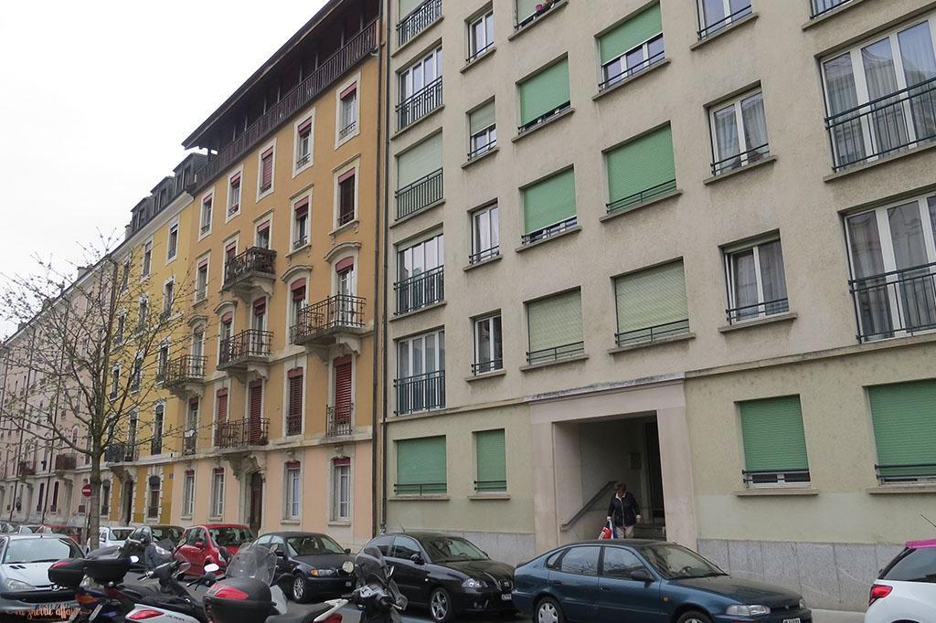 Geneva apartment building