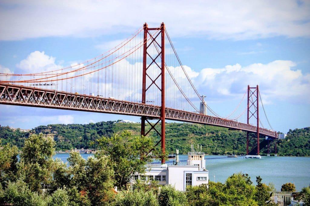 Lisbon 25 Abril Bridge