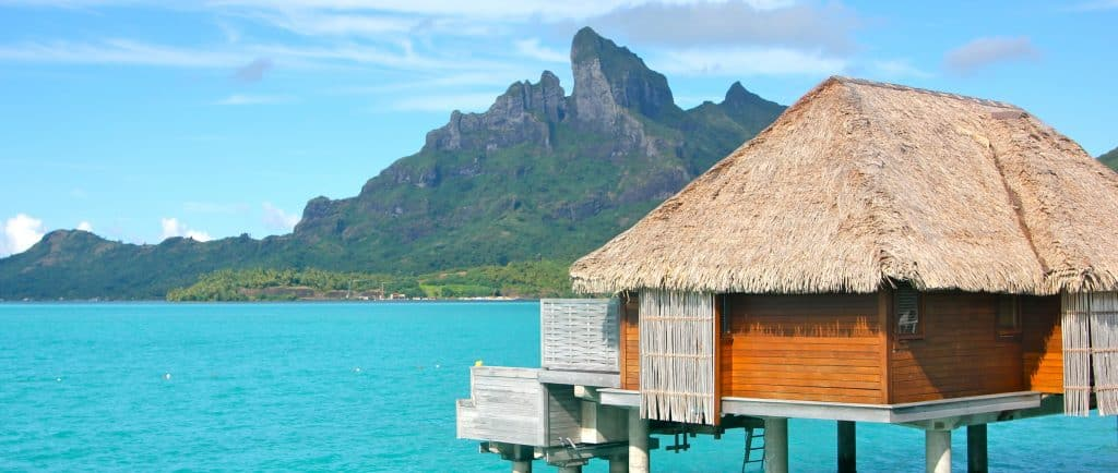 Over Water Bungalow At Four Se