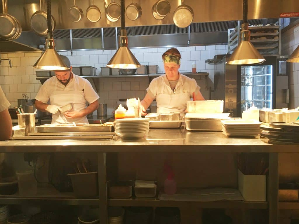 chefs at Roses Luxury in Washington DC