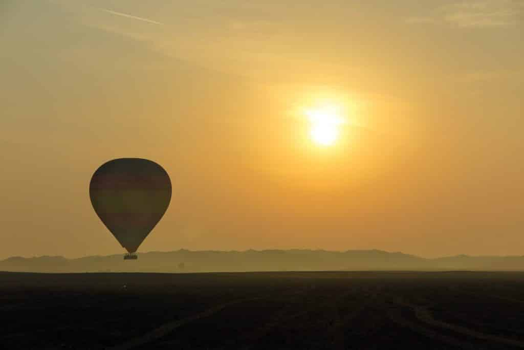 Dubai Luxury experience of a Hot Air Balloon
