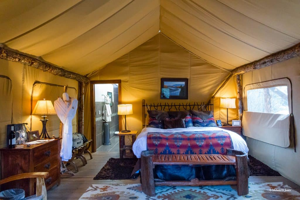 Luxury in Montana at Paws Up