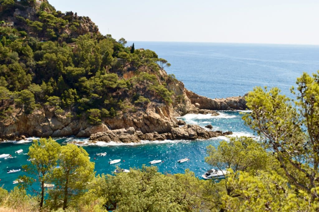Travel By A Sherrie Affair's Thursday Travel Blogger: Traveling Around Spain- My Favorite Destination is Costa Brava.(photo credit--- Kimberly Shellborn photo)