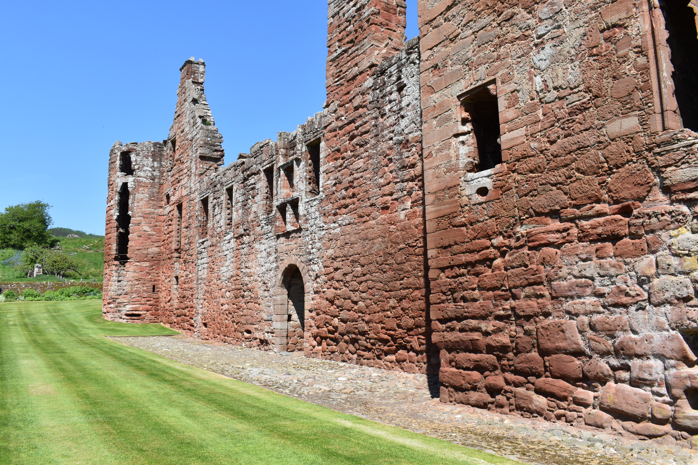 Edzell Castle- Travel By A Sherrie Affair