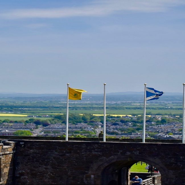 Sterling Castle Flags- Travel By A Sherrie Affair