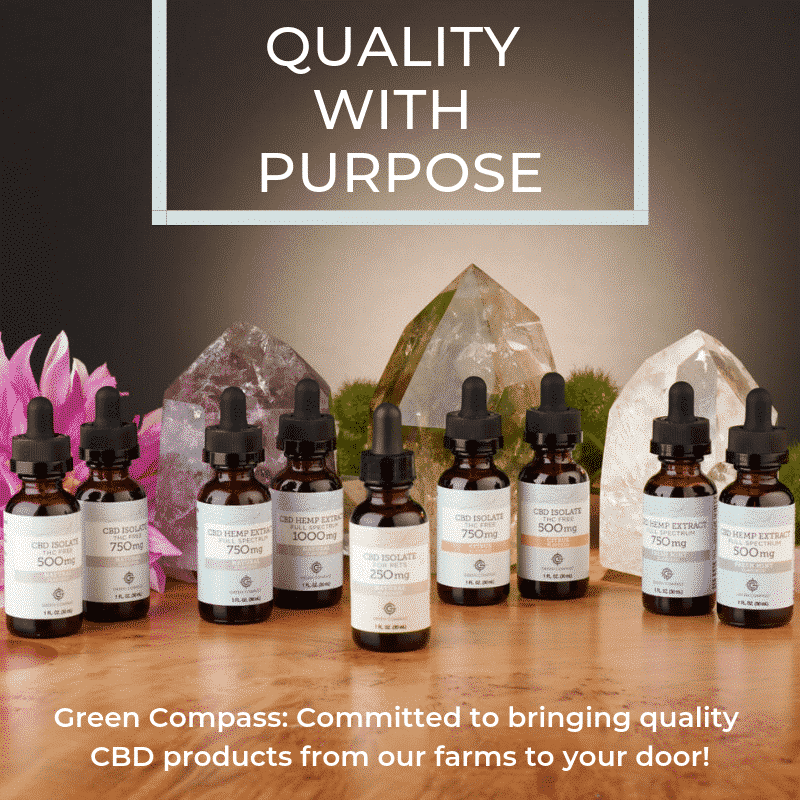 Green Compass. The Best CBD Products for your health
