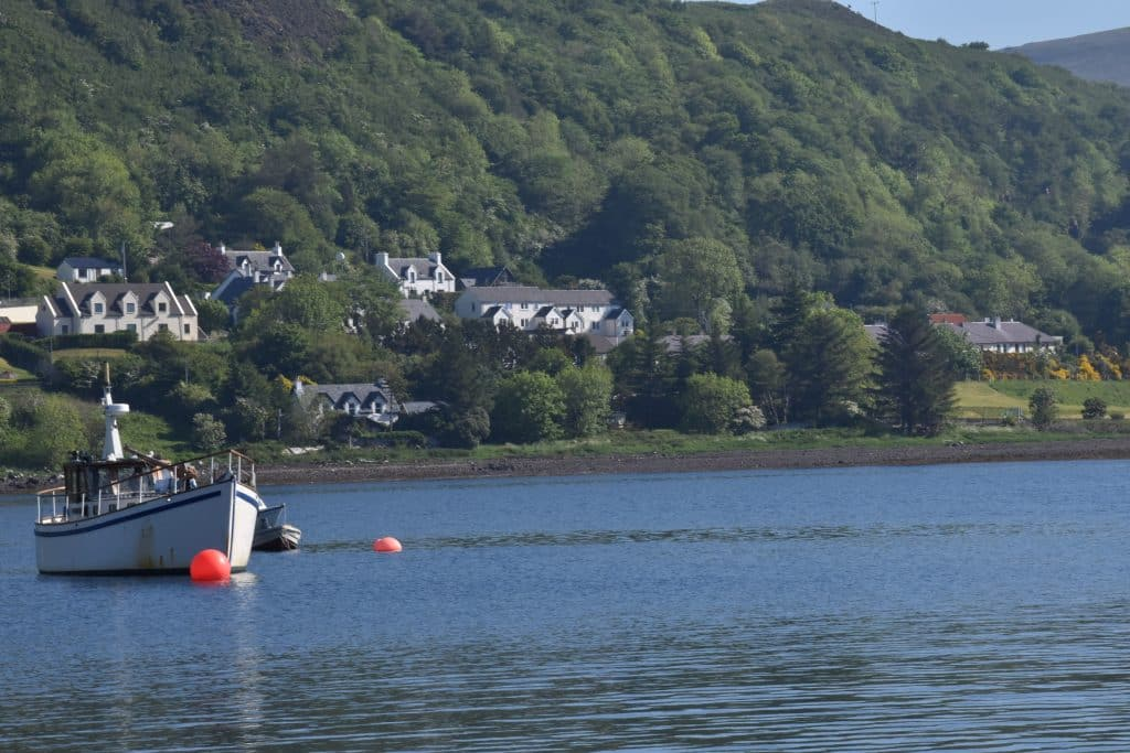 Town of Uig and port